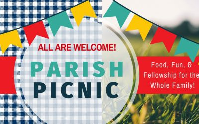 Parish Picnic Saturday, September 14