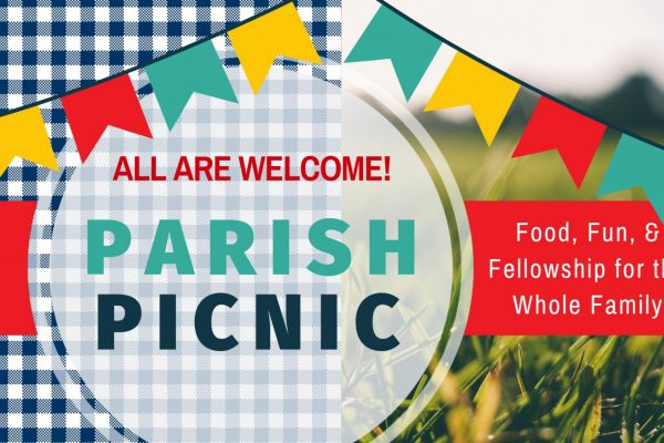 Parish Picnic Saturday, September 14