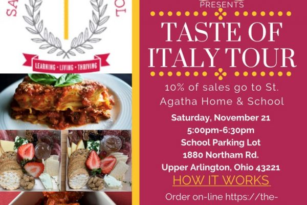 "Skip the Dishes with ""Taste of Italy Tour"""