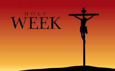 Holy Week Mass/Service Schedule
