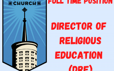 Staff Opening DRE (Director of Religious Education)